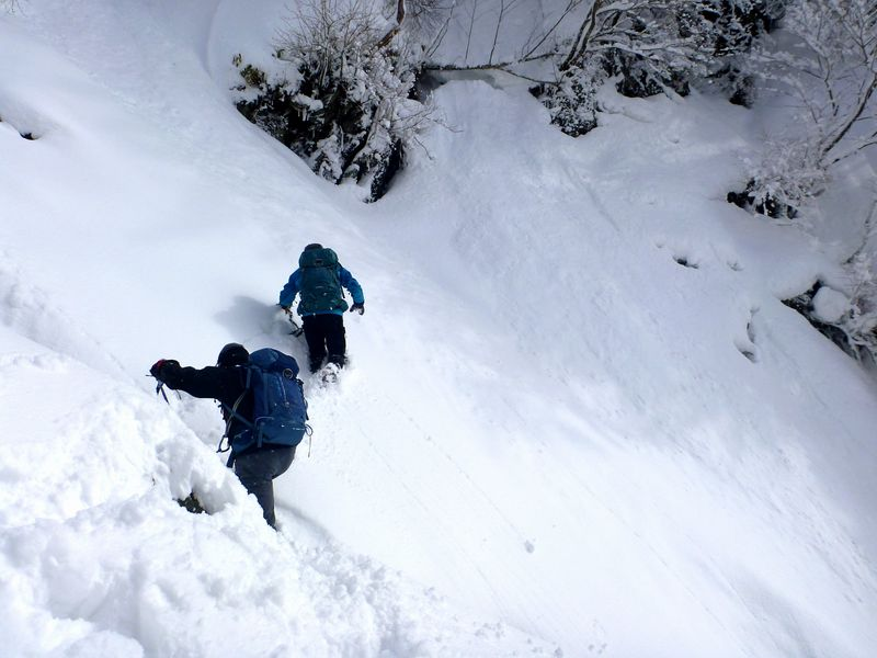 フスベヨリ谷コース