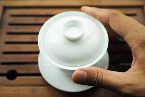 白磁の蓋碗小90cc