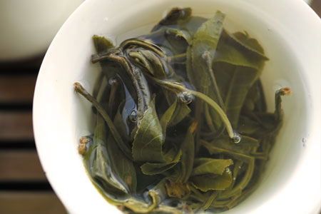 南糯山秋天散茶2013年プーアル茶