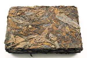 沈香黄片老茶磚80年代プーアル茶
