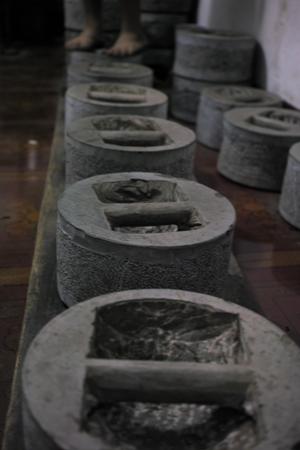 易武山石型の圧延プーアル茶