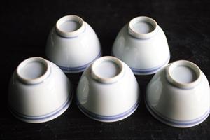 景徳鎮の茶杯裏