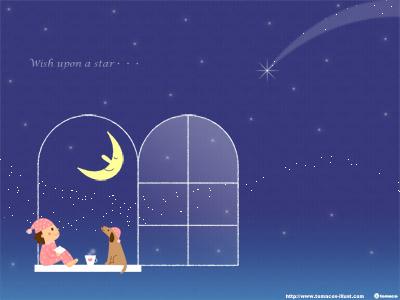 星に願いを_壁紙