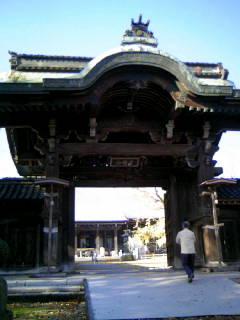 確かに、雰囲気は某寺ですね。