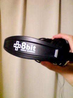 8bitヘッドフォン