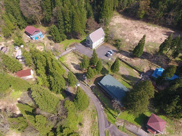 小松市の廃村、空撮画像 | HEYANEKOの棲み家(へき地ブログ)