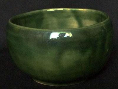織部の茶碗