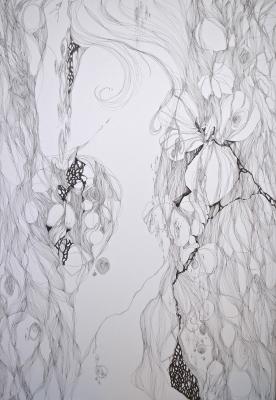 2012春陽展(落選)「初花」