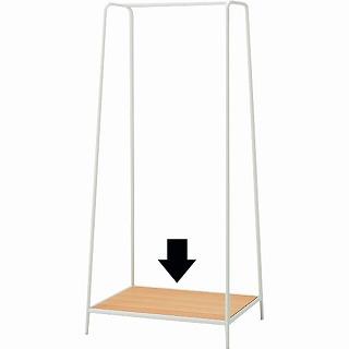 スチールコートハンガー用棚板/幅59×奥行47×厚さ1.5cm