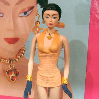 スタイリッシュなバービー人形