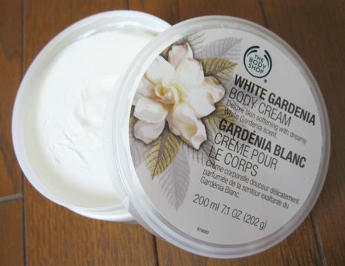ホワイトガーデニア ボディクリーム