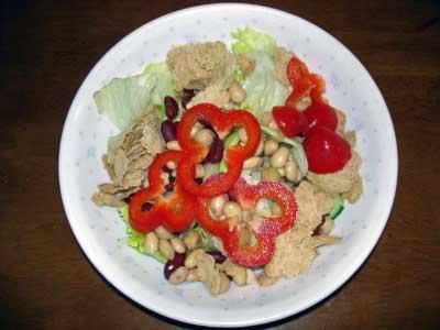 ビーンズのサラダ
