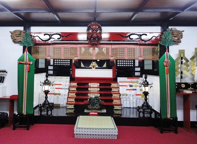 富士、金運神社