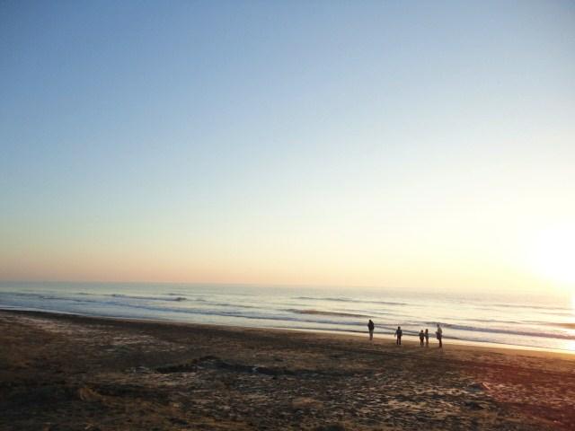 一月一日の海岸