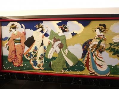 目黒雅叙園、廊下の装飾