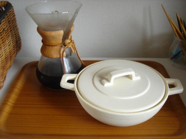 コーヒーとスープ。