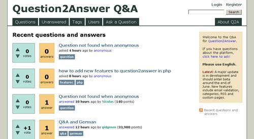 Q&Aサイトを構築