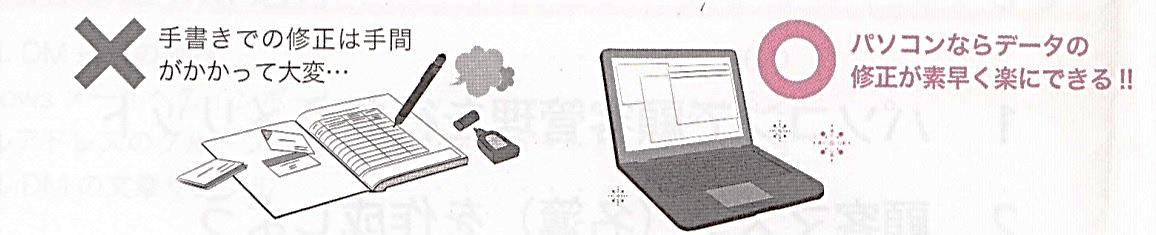 パソコンでできること