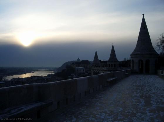budapest , HUNGARY , 2008 winter-11