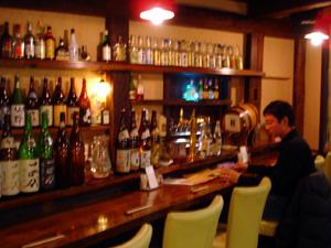 高山市内の「あてや」さんという飲み屋に行きました。
