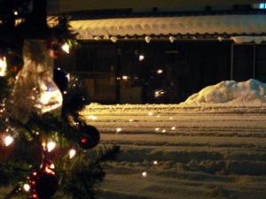 雪がふ〜る〜