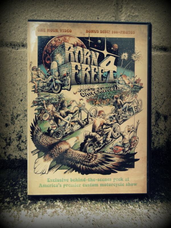 BORN FREE 4 OFFICIAL DVD+CD