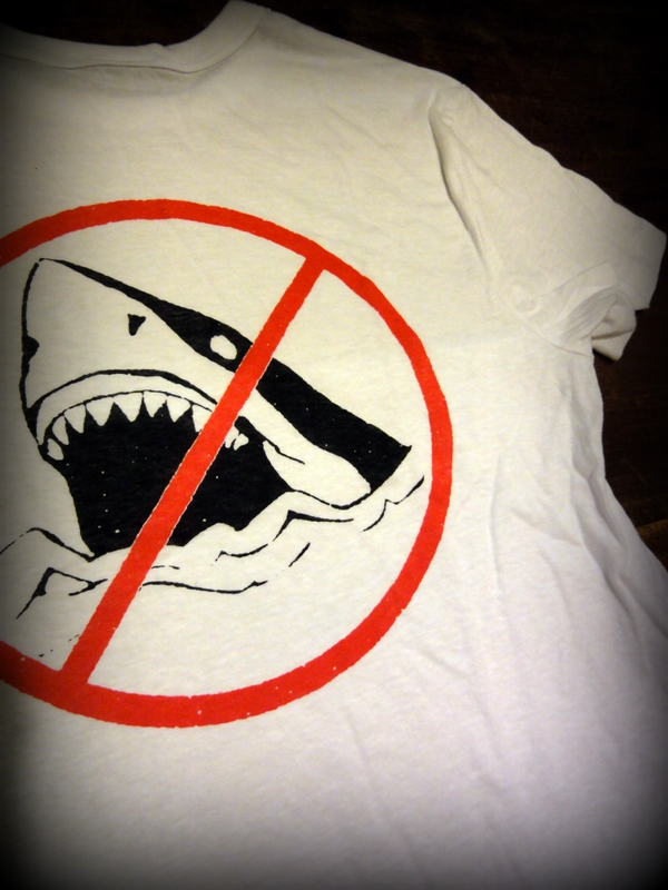No Sharks Tri Blend Tee