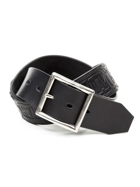 CTE-13S529  < Marauder Leather Belt >