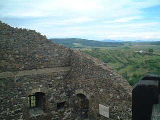ホッロークー城からの眺め