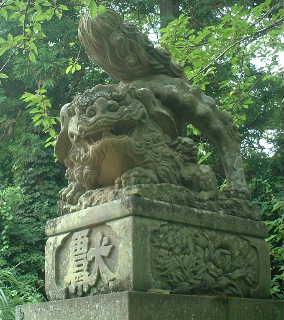 隠岐神社の狛犬