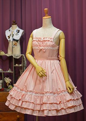 秋薔薇ジャンパースカート