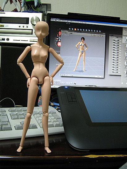 デッサン人形2