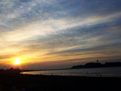 初日の出@鵠沼海岸