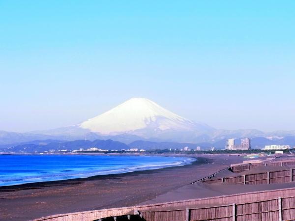 富士山@鵠沼海岸