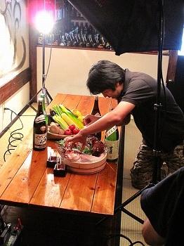 料理登場!