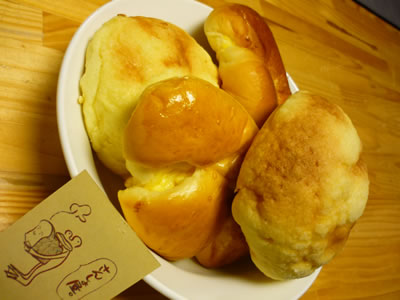 さんしょ屋のパン