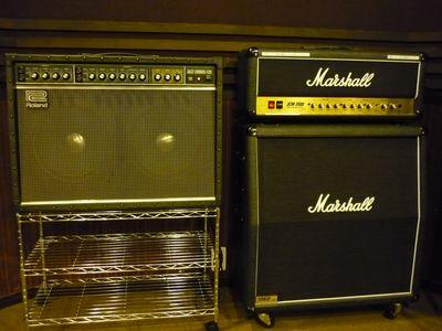 Roland JC-120, Marshall JCM2000, Marshall 1960A