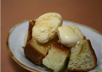 パン+アイス
