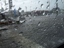帰りの豪雨2