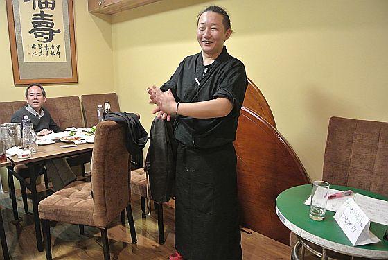 「愛妻家」店長内田さん
