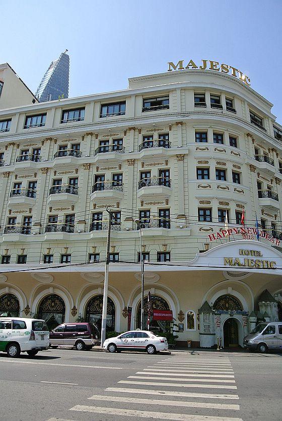 歴史あるマジェスティックホテル