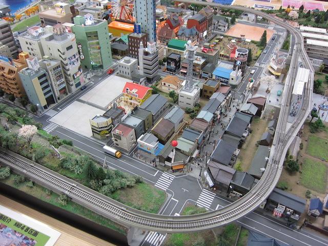 山田町ジオラマ