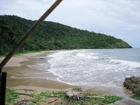 ほぼ南端のビーチ