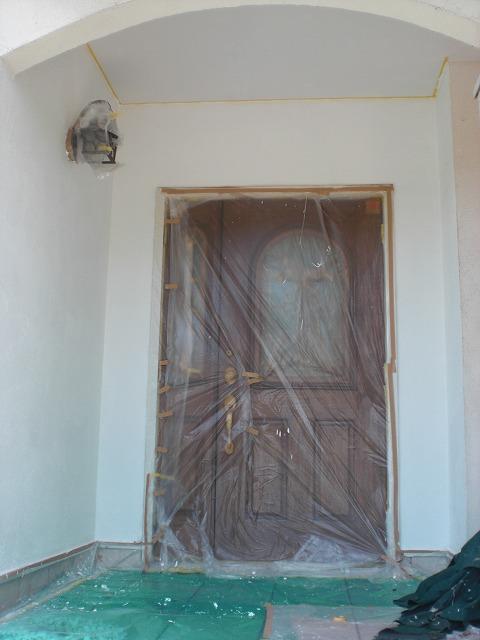 壁 エコファイン 塗装