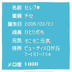 メロ度1000記念!