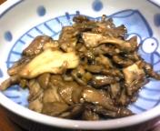 マイタケの中華風炒め物。