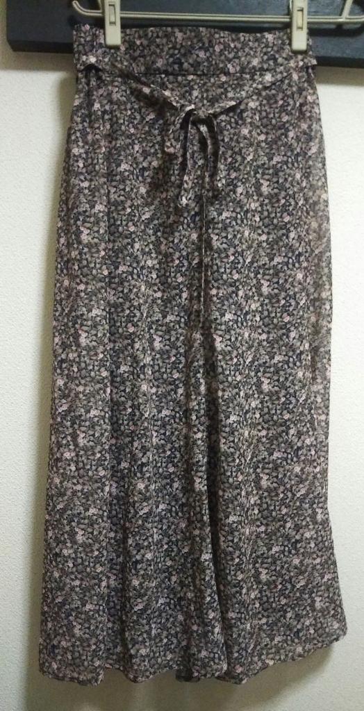 小花スカート