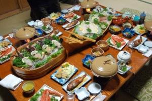 「石松」の夕食!