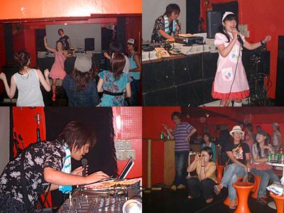 GT005のライブ(ナゴムユニオン)