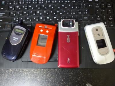 ガラ系携帯電話